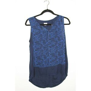 Converse One Star Sleeveless Top Blouse High Low